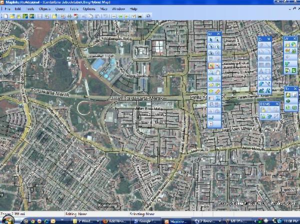 Overlay Bing dan Vector
